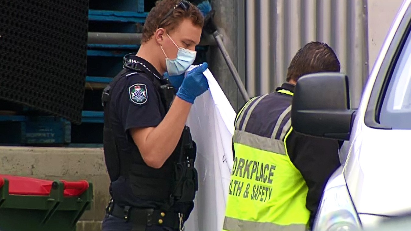 Officers from the Forensic Crash Unit and Workplace Health and Safety were at the facility this morning investigating what led to the incident.