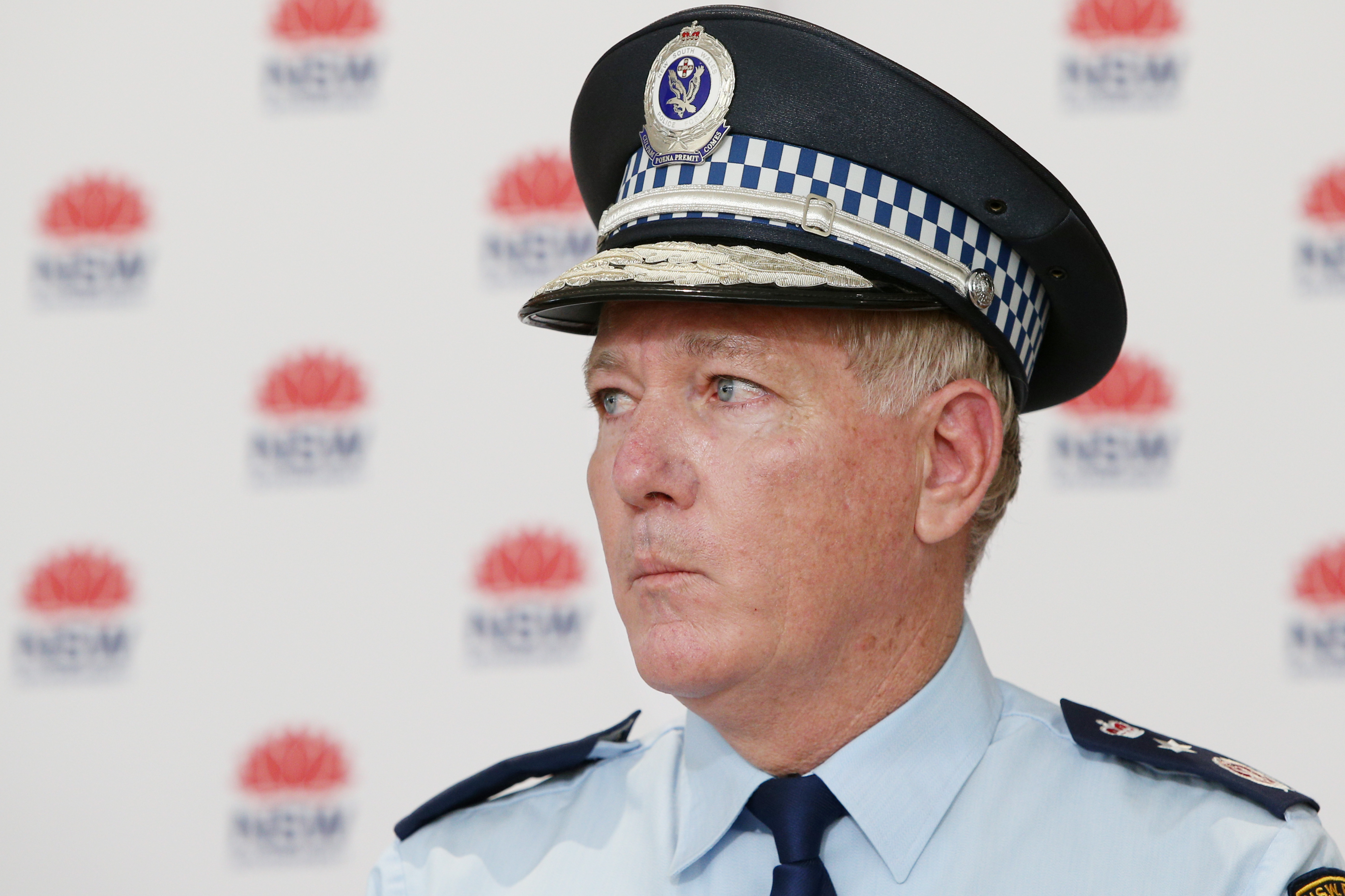 NSW Police Commissioner Mick Fuller said police handed out more than 800 COVID-related infringements in the past day.