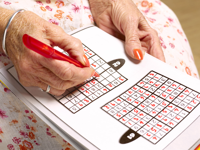 Sudoku generic stock image