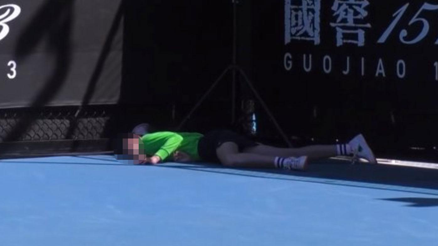 Ball boy Australian Open