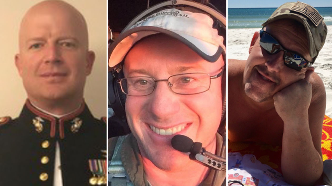 Paul Clyde Hudson, Ian McBeth and Rick DeMorgan Jr were killed when an airtanker went down while fighting NSW fires.