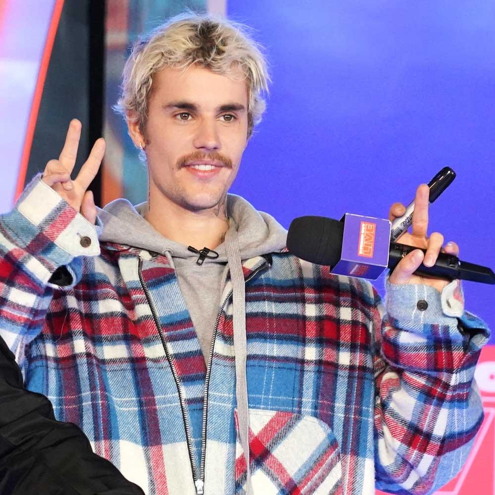 Justin Bieber in February, 2020.