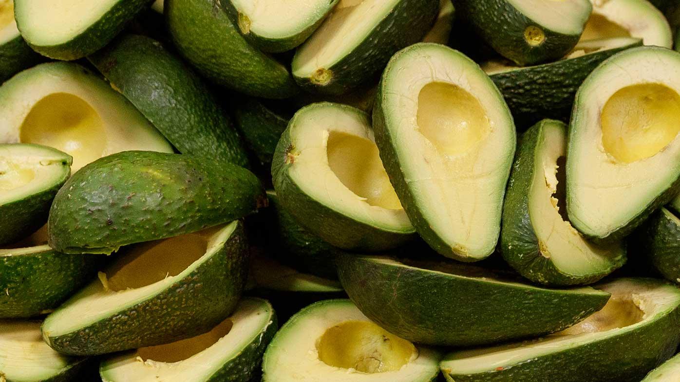 A file photo of avocados.