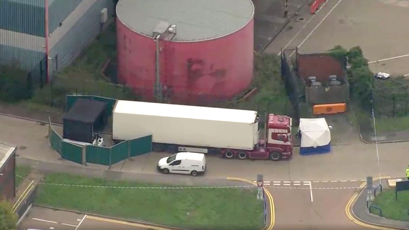 39 bodies found in UK truck container