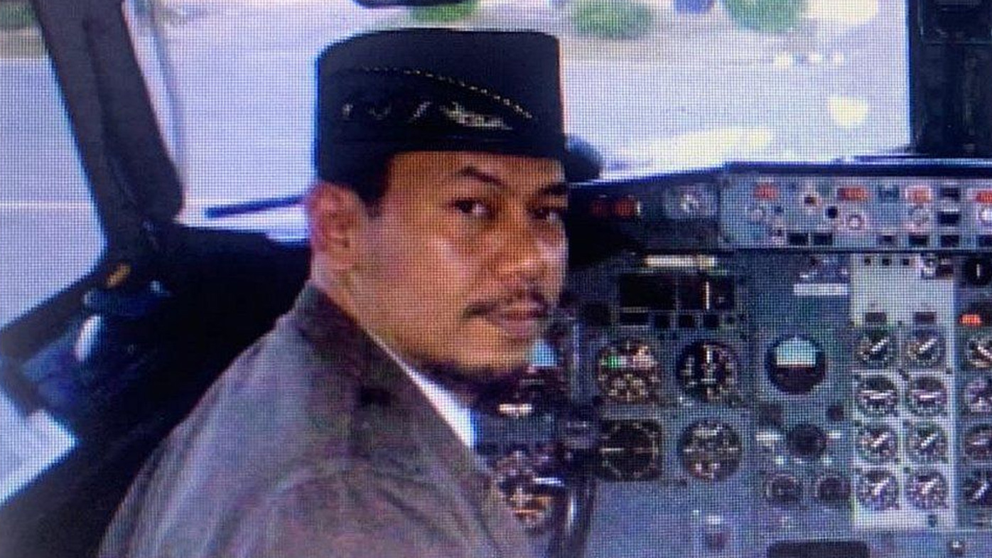 Pilot Captain Afwan is a former Indonesian Air Force pilot who was widely admired and had more than 30 years of flying experience.