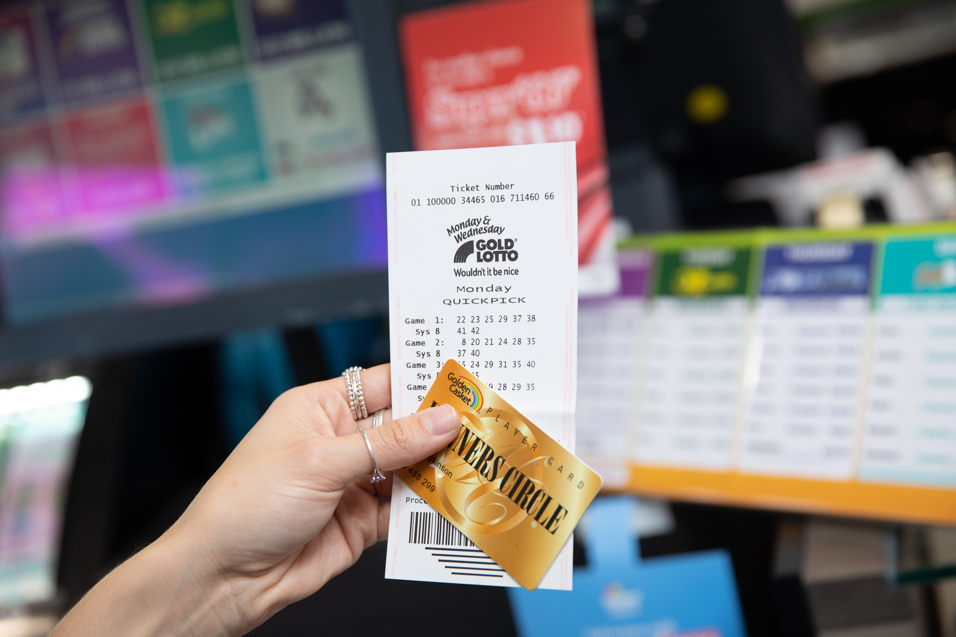 Queensland grandpa's impulse Lotto ticket wins big