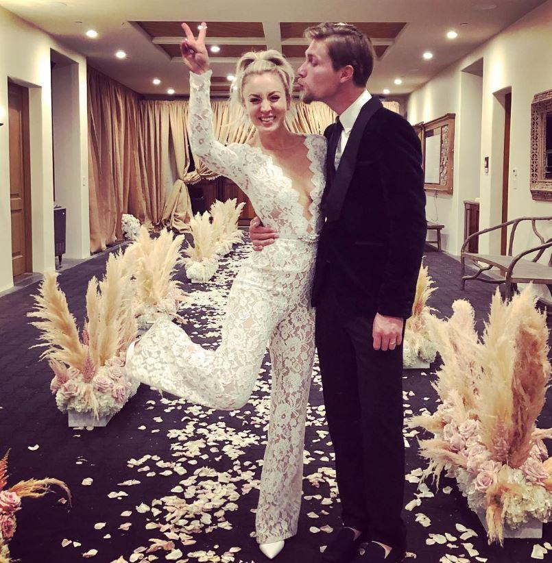 Kaley Cuoco and Karl Cook, wedding, barn