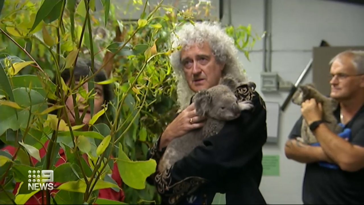 Rock royalty makes furry friends with RSPCA visit