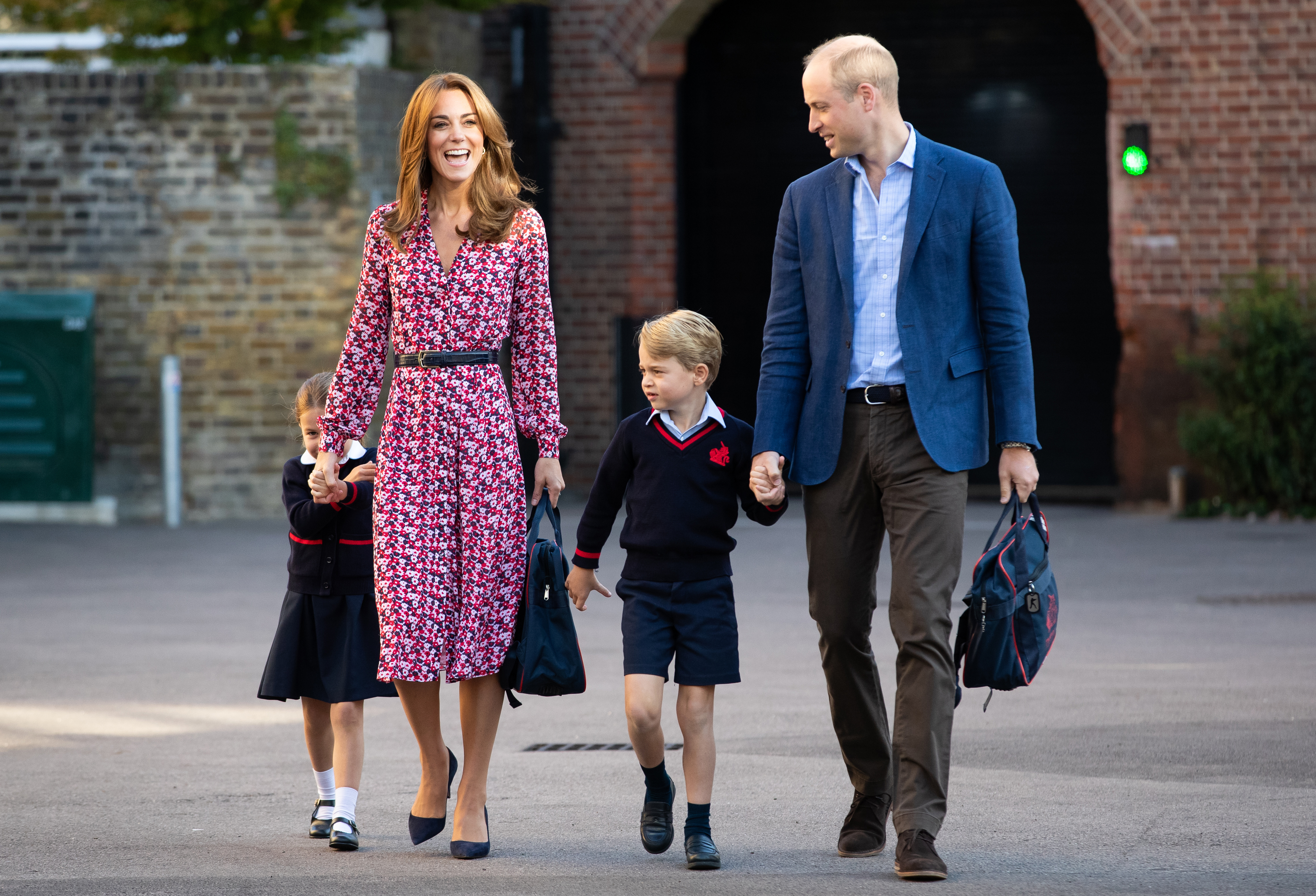 Princess Charlotte and Prince George attend Thomas's School in Battersea.