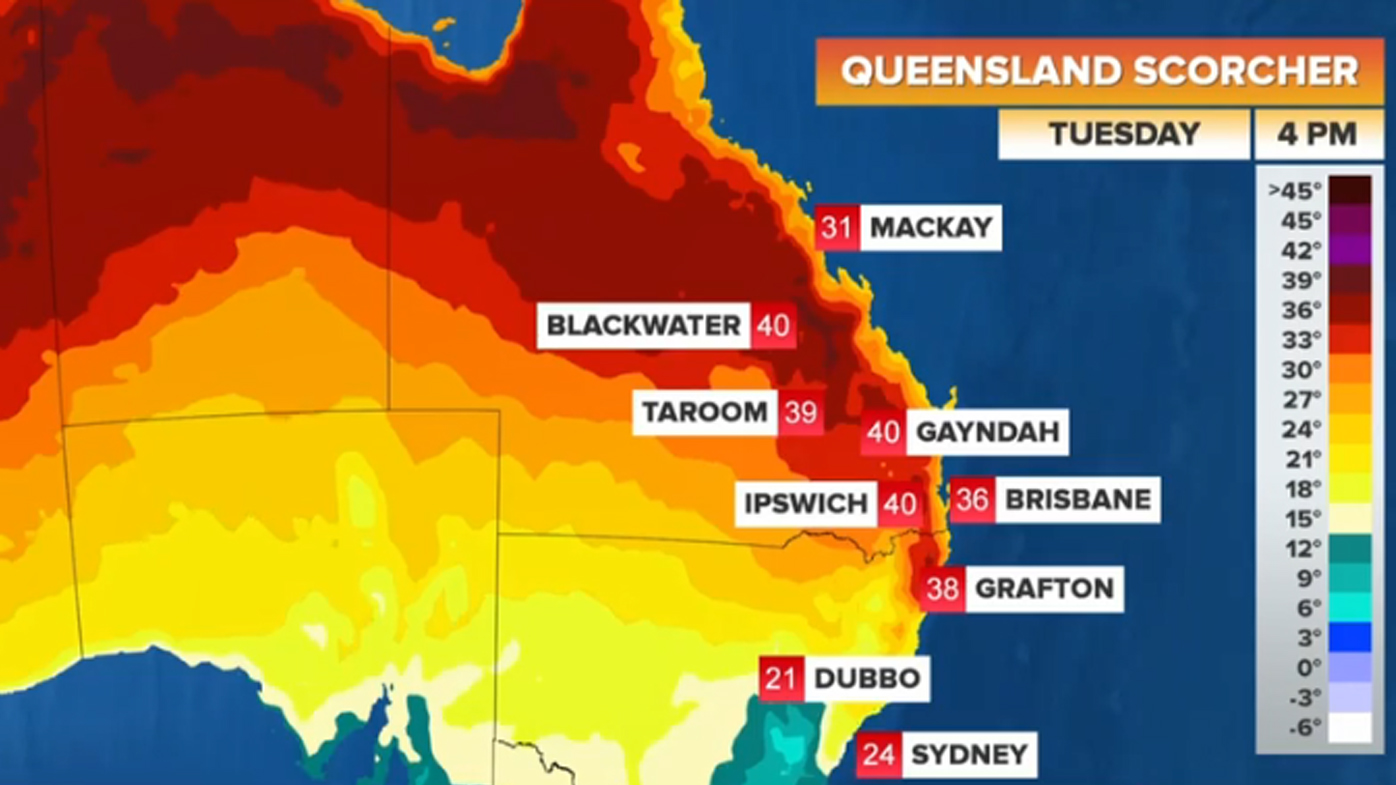 Heatwave triggers evacuation warning