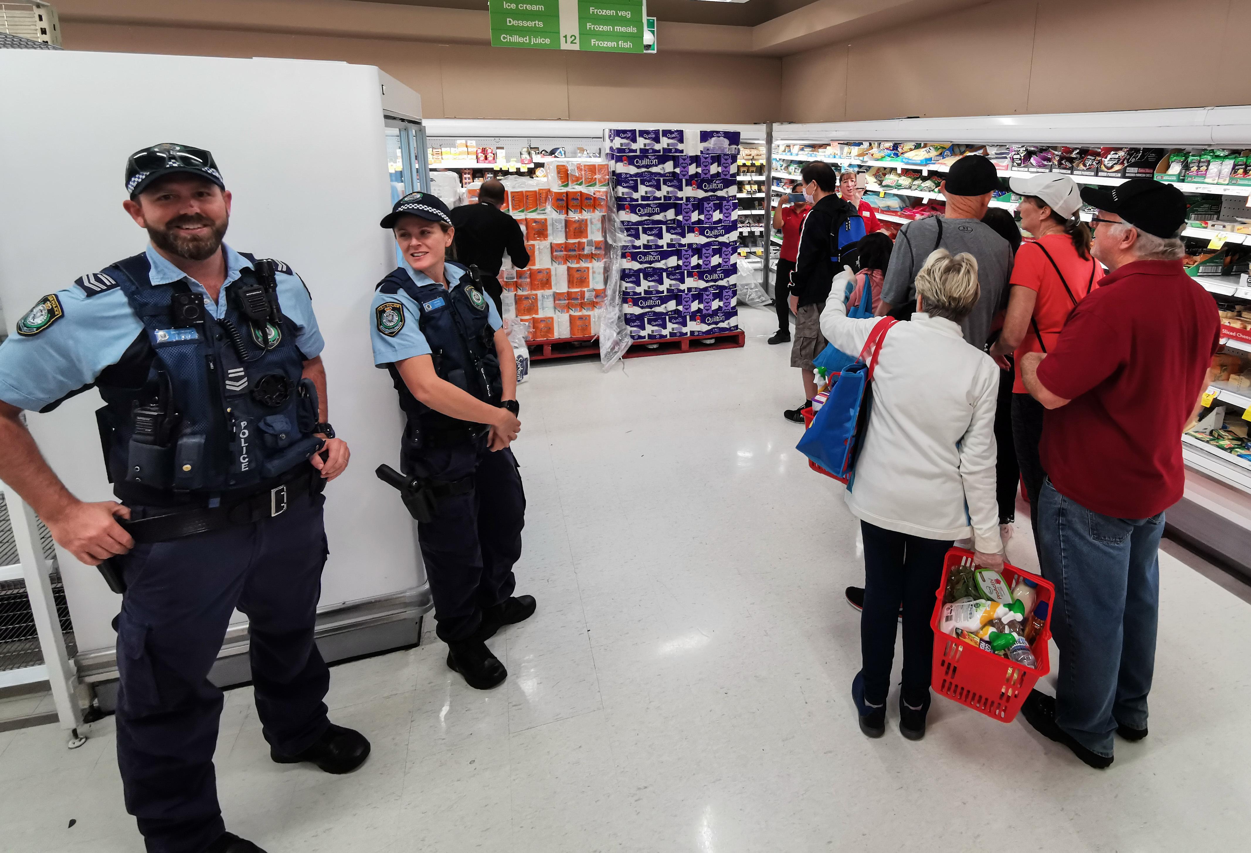Panic-buying spikes 'record' retail surge