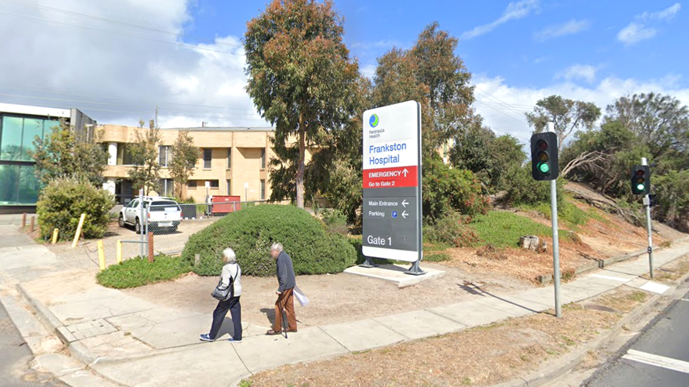 A growing cluster of coronavirus cases has been detected among patients and staff at Frankston Hospital in Melbourne.