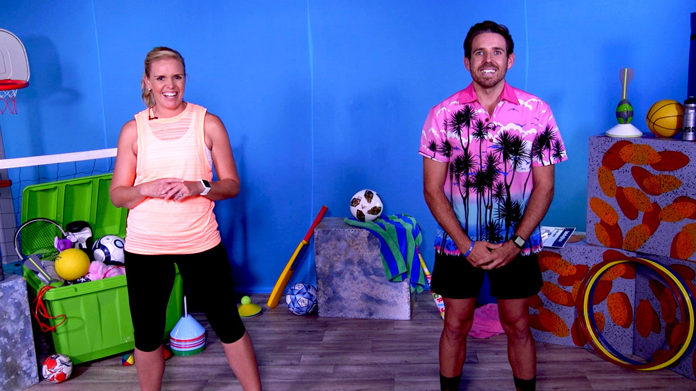 The first two episodes of GetActive@Home are available from Wednesday, May 6