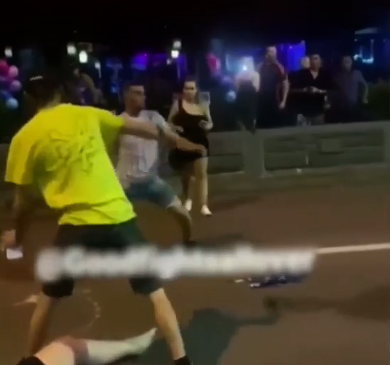 Viral footage of double knockout more than meets the eye