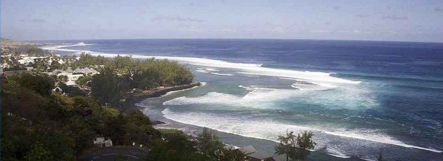 The shark attack occurred at St. Leu, one of the best surfing spots on the island.
