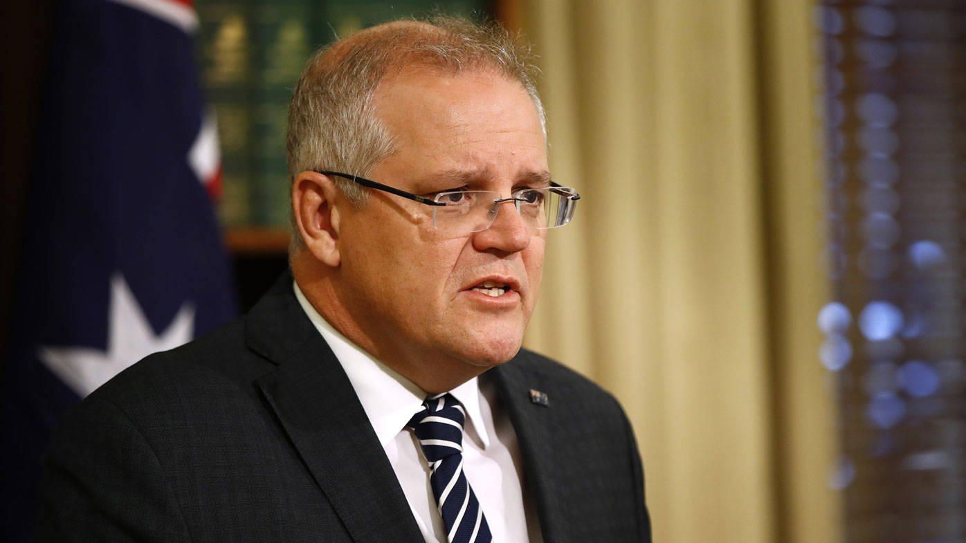 Scott Morrison has conceded climate change may be impacting the bushfires.