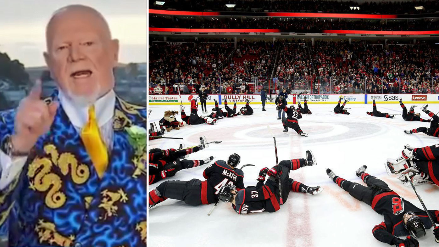 Don Cherry called the Carolina Hurricanes 'jerks'
