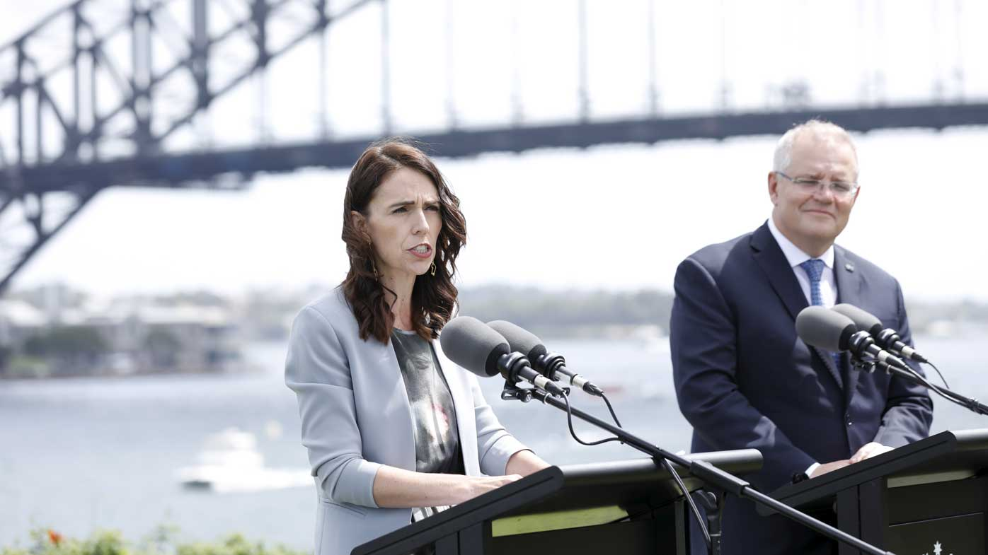 Jacinda Ardern criticised Australia's deportation policy.