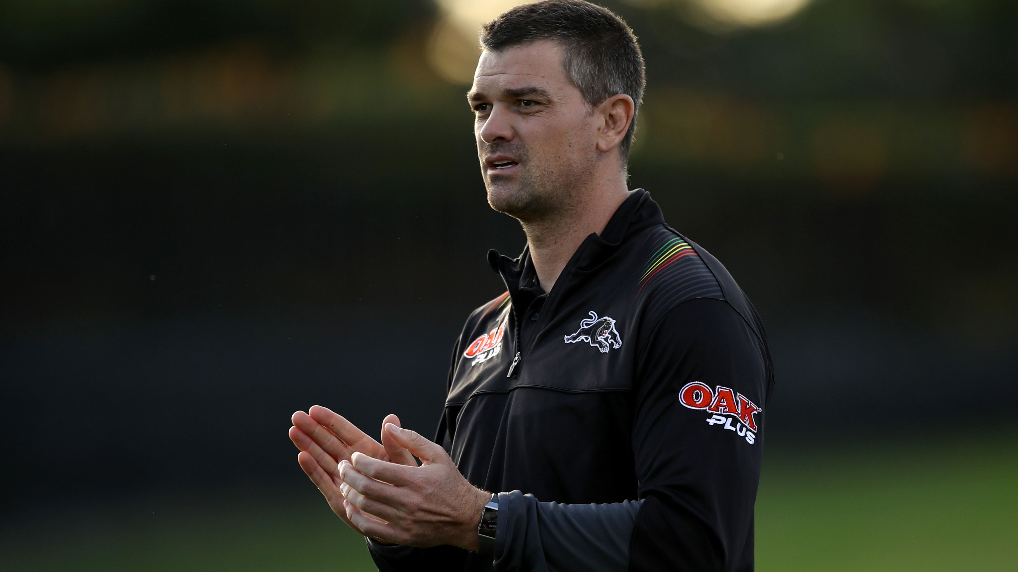 Panthers assistant coach Cameron Ciraldo.