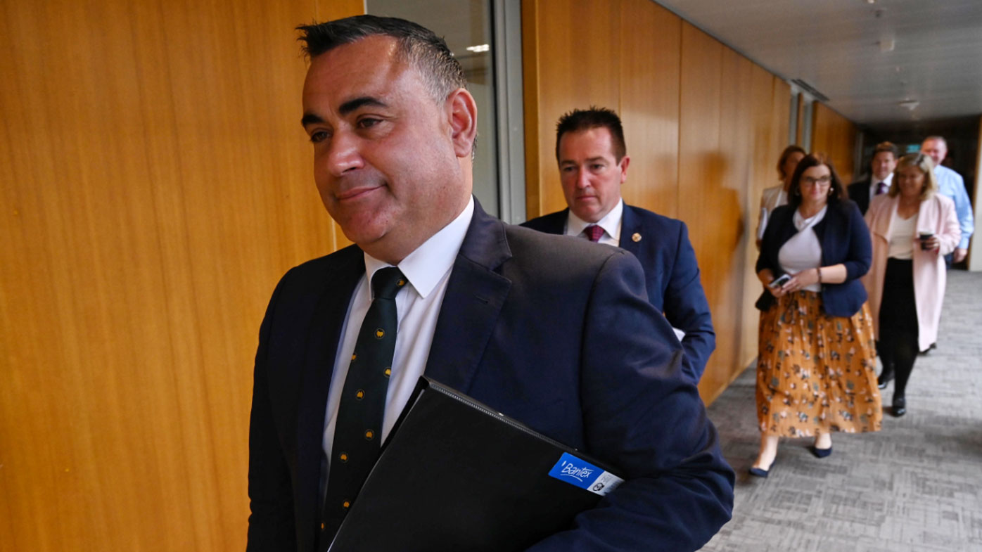 NSW Deputy Premier John Barilaro taking mental health leave