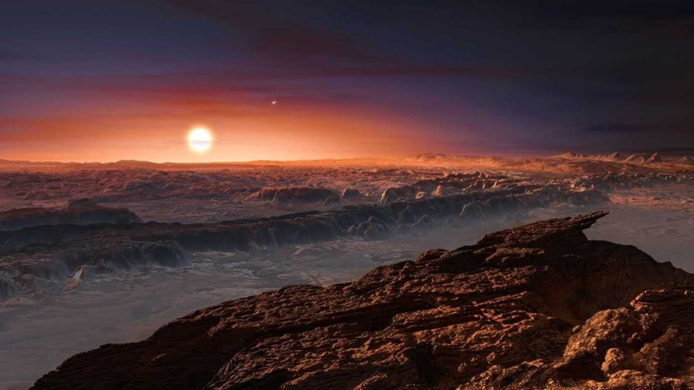 Potential super-Earth found orbiting the nearest star from our sun