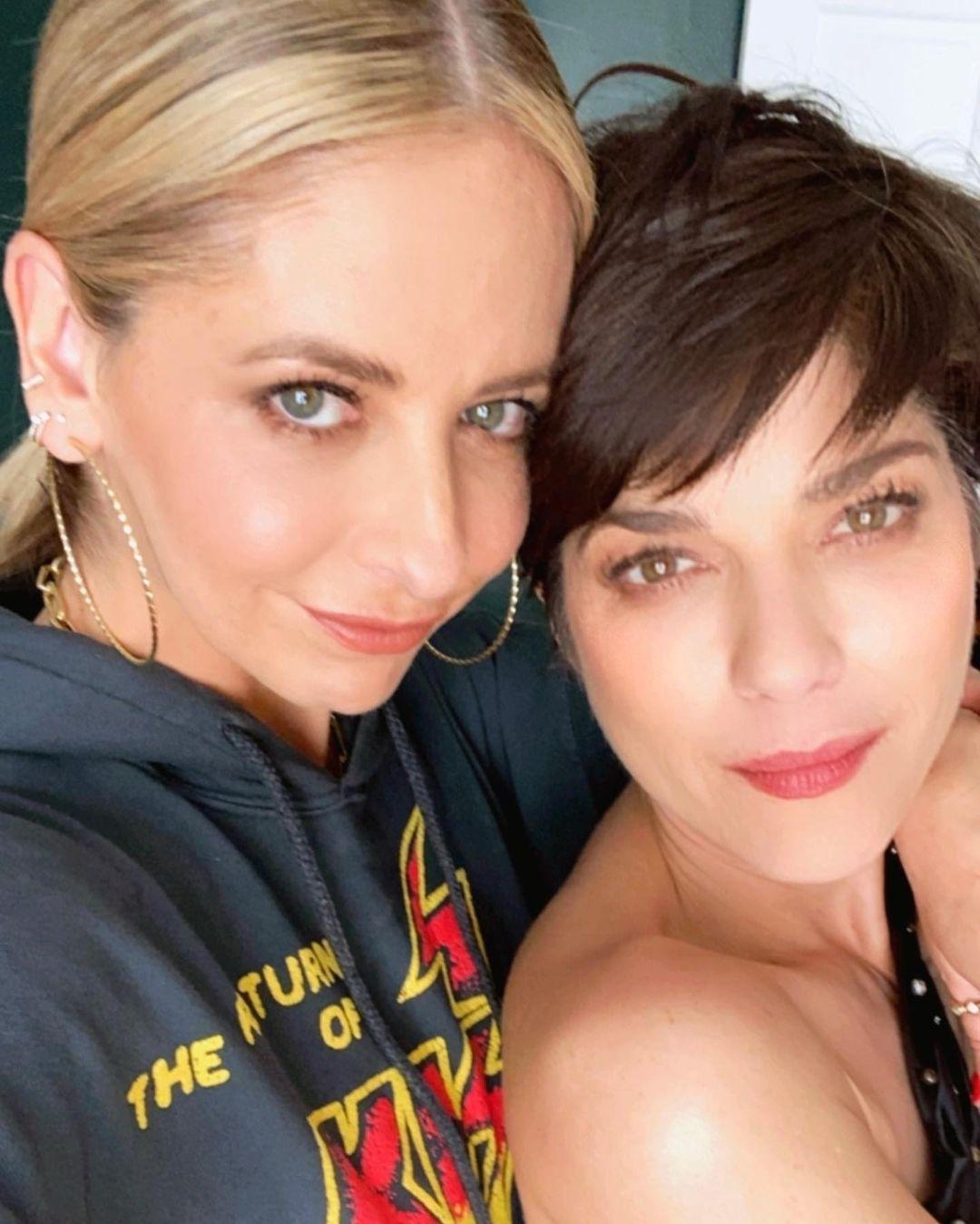 Selma Blair and Sarah Michelle Gellar.