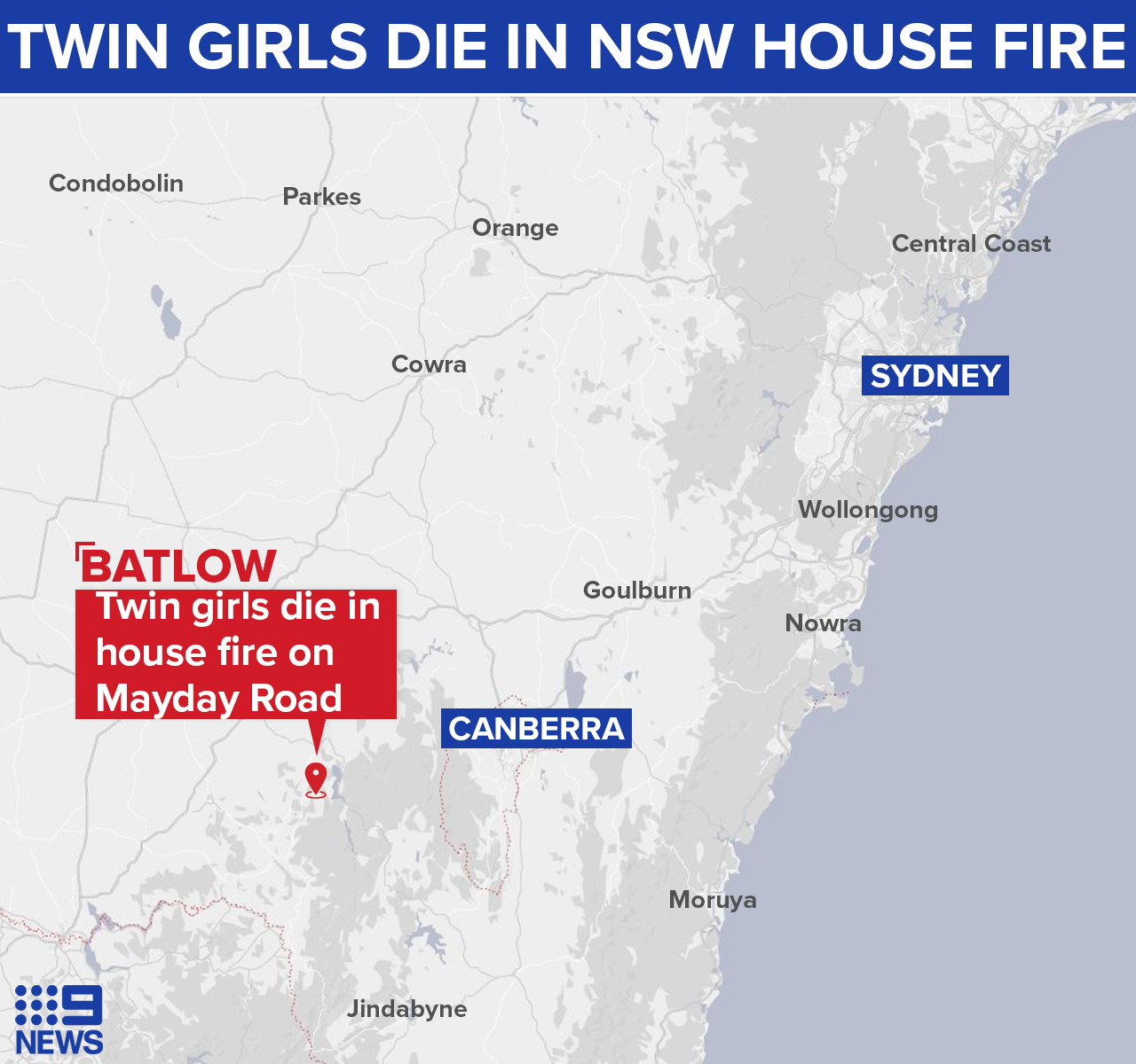 Batlow is on the New South Wales south-west slopes.