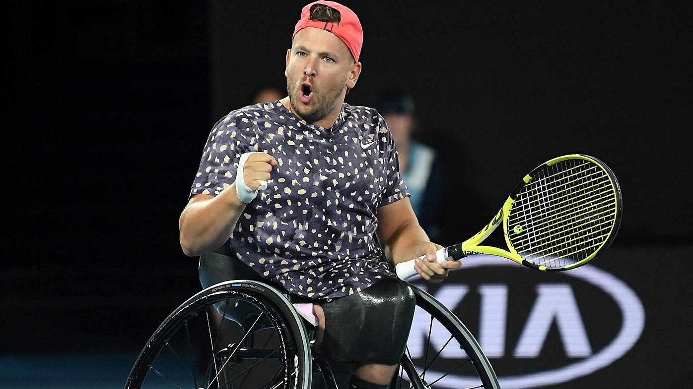 Alcott wins sixth Open wheelchair title