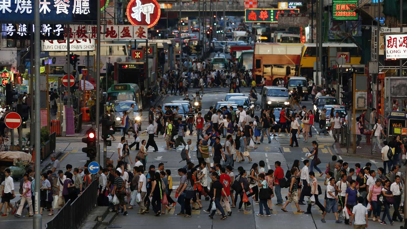 Hong Kong is a major export market for Australia.
