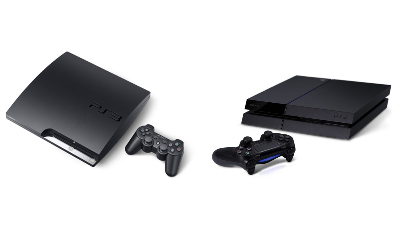 PS3 Slim vs PS4 Pro