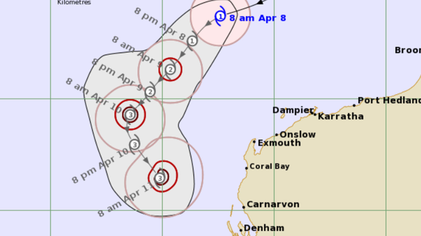 Tropical Cyclone Seroja is projected to gather strength before a weekend landfall.