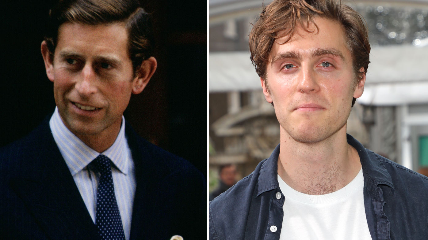 Prince Charles (left), Jack Farthing (right) - the actor will play Prince Charles in the upcoming movie Spencer