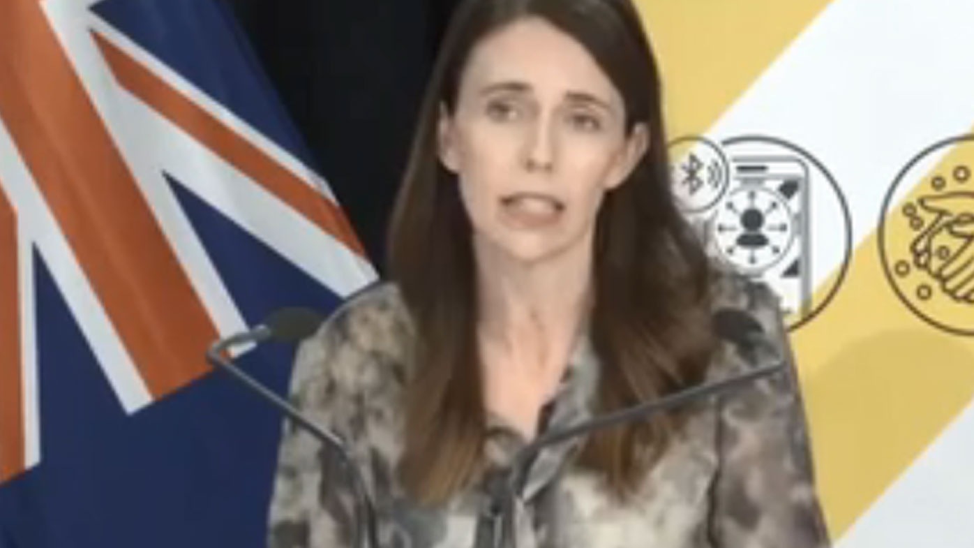 Jacinda Ardern announces seven-day lockdown in Auckland