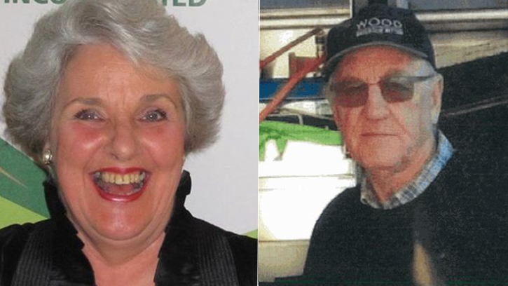 Missing Carol Clay and Russell Hill.