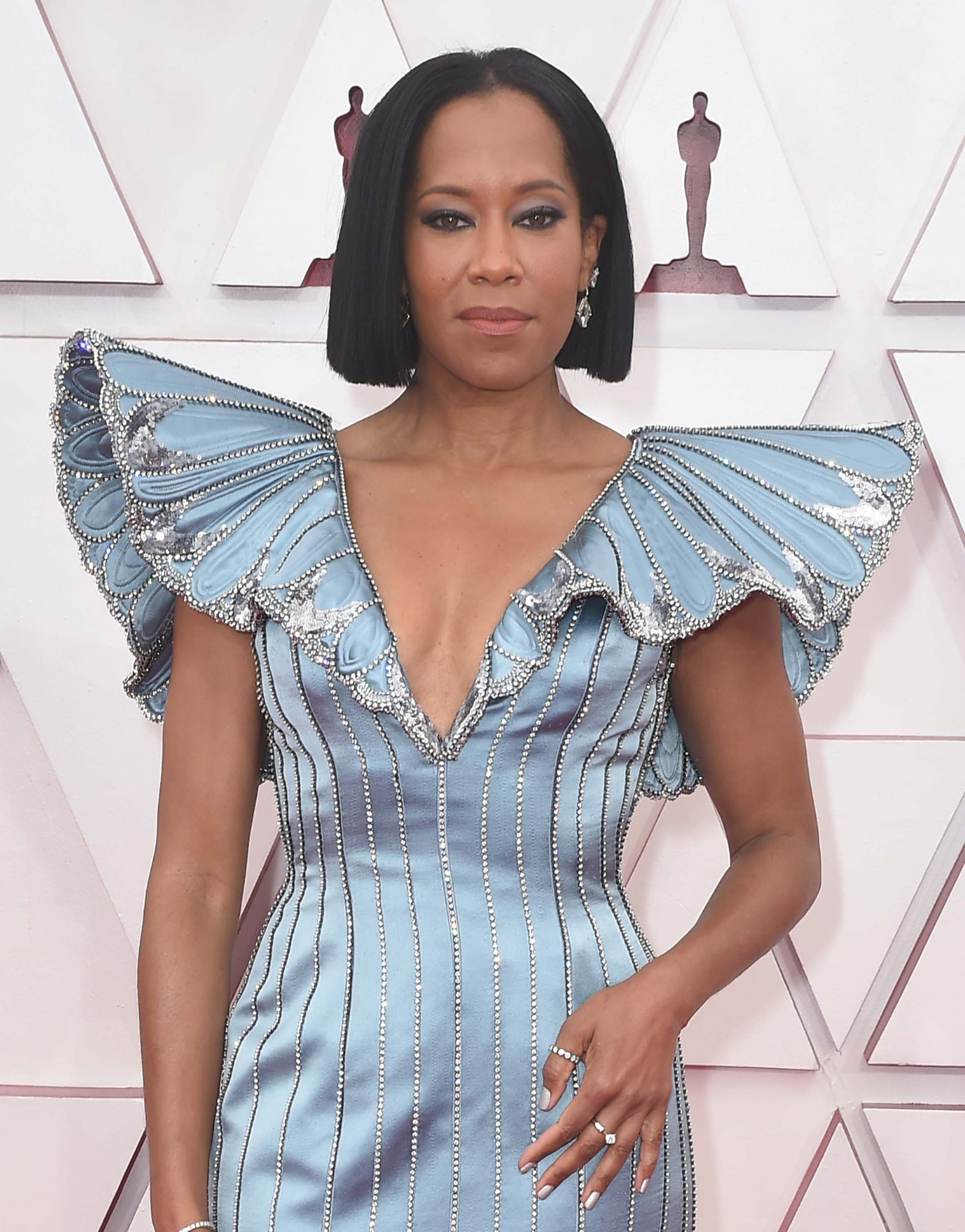 Regina King, Oscars 2021, Union Station Los Angeles, theatre at Hollywood & Highland Center in Hollywood