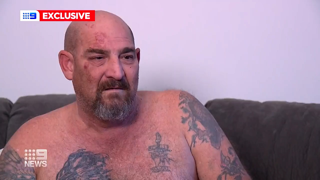 Truck driver brutally bashed with crowbar by group of men in Western Sydney