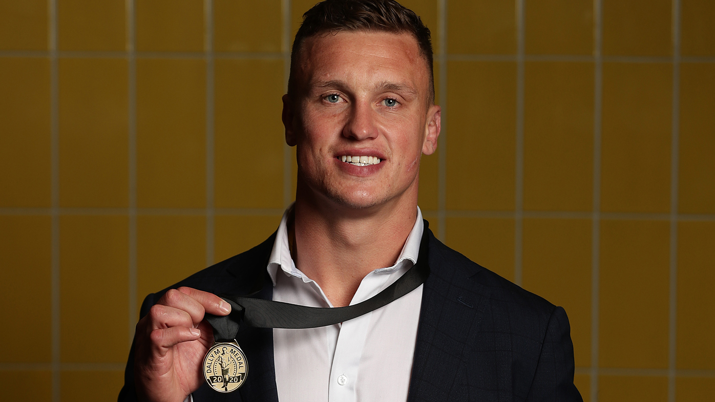 Jack Wighton, who won last year's Dally M medal.