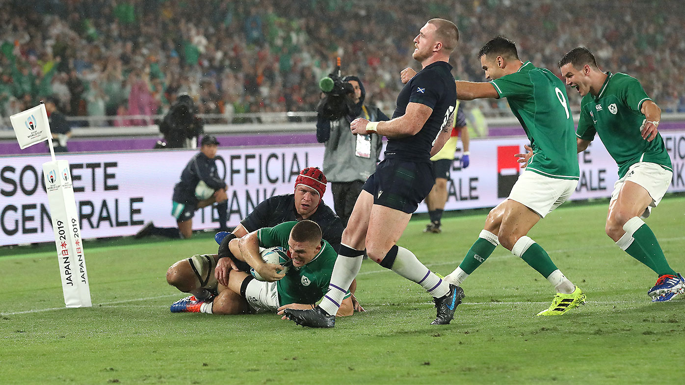 Ireland shrug off injury scare in Scotland romp