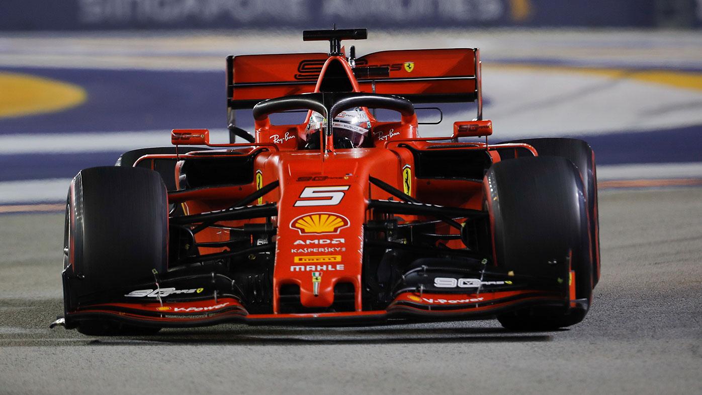 Sebastian Vettel is one driver against reverse-grid qualifying races.