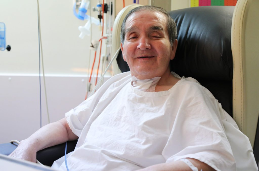 Man's impassioned plea after 399 days in hospital with COVID-19