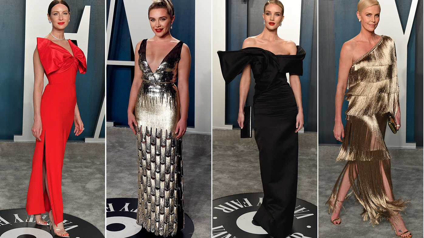 All the winning looks from the Vanity Fair Oscar party