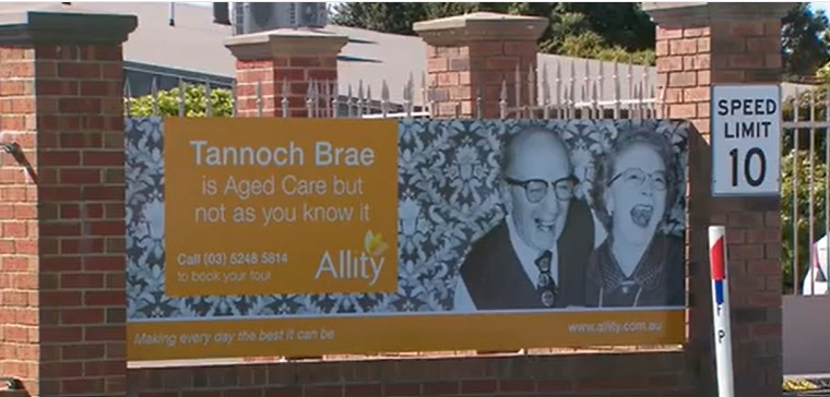 A 90-year-old aged care resident has allegedly been sexually assaulted in her room in Geelong.