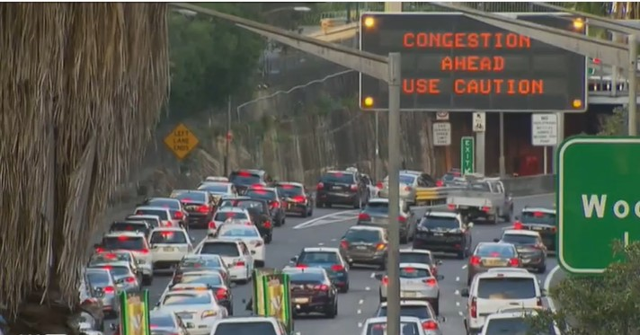 Heavy congestion: Seventy-seven per cent of projects went to coalition seats and one document is key.