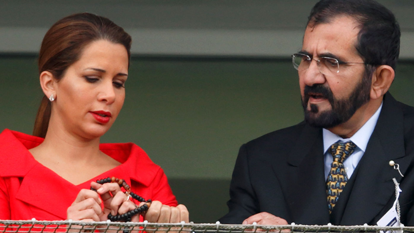 Sheikh Mohammed bin Rashid al-Maktoum caught Princess Haya