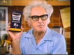 Julius Sumner Miller, Cadbury TV commercial