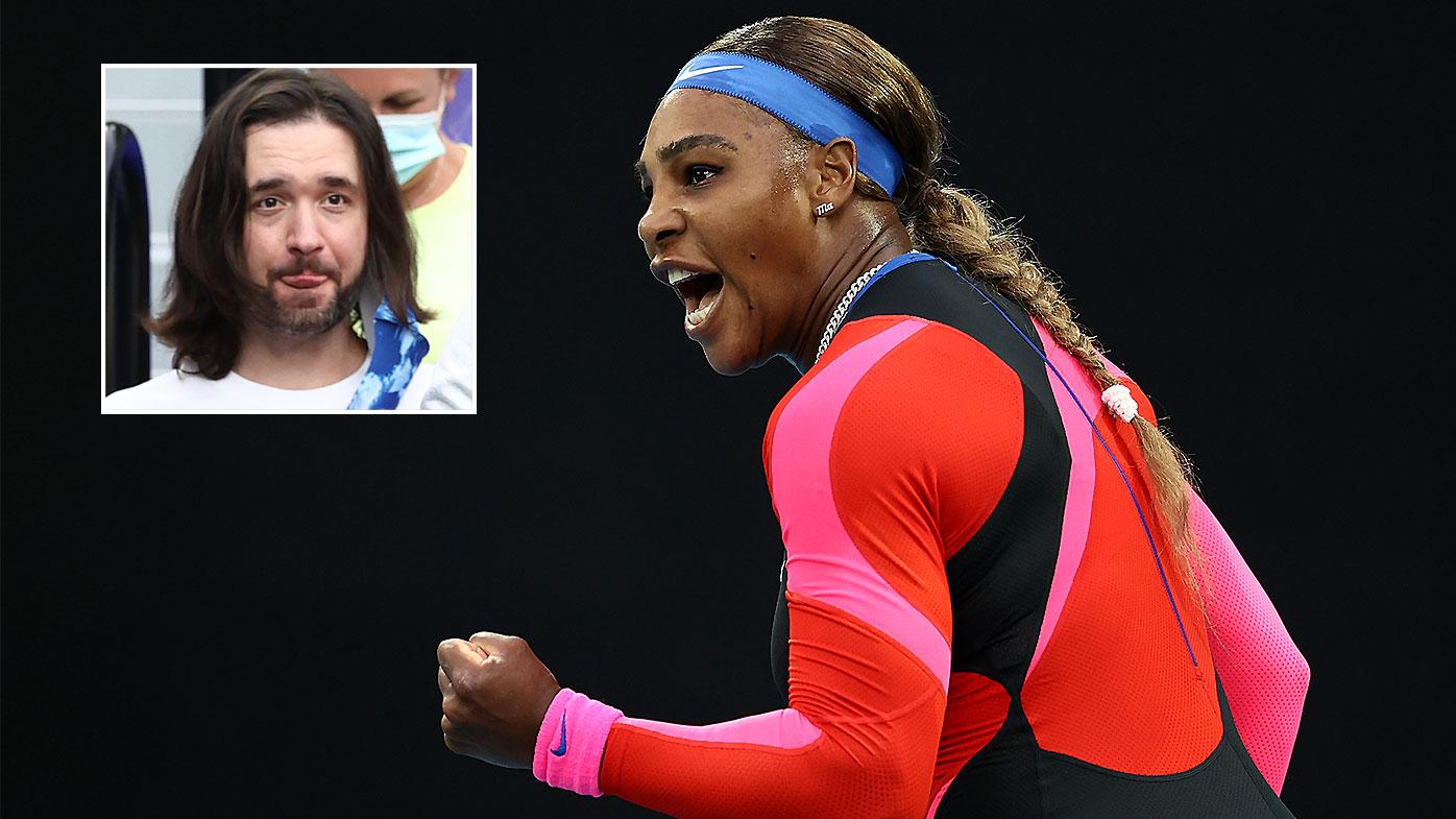 Serena Williams Alexis Ohanian