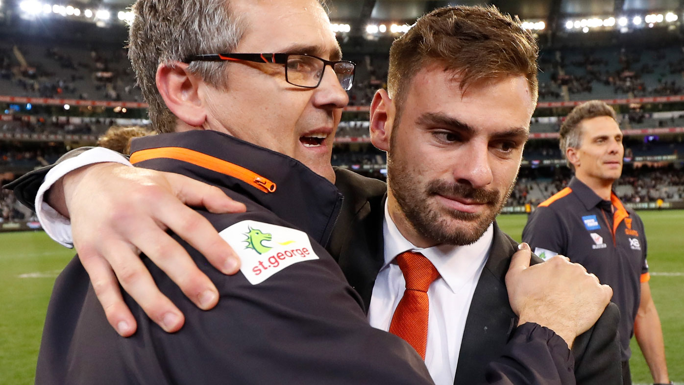 GWS star racing the clock to make Grand Final