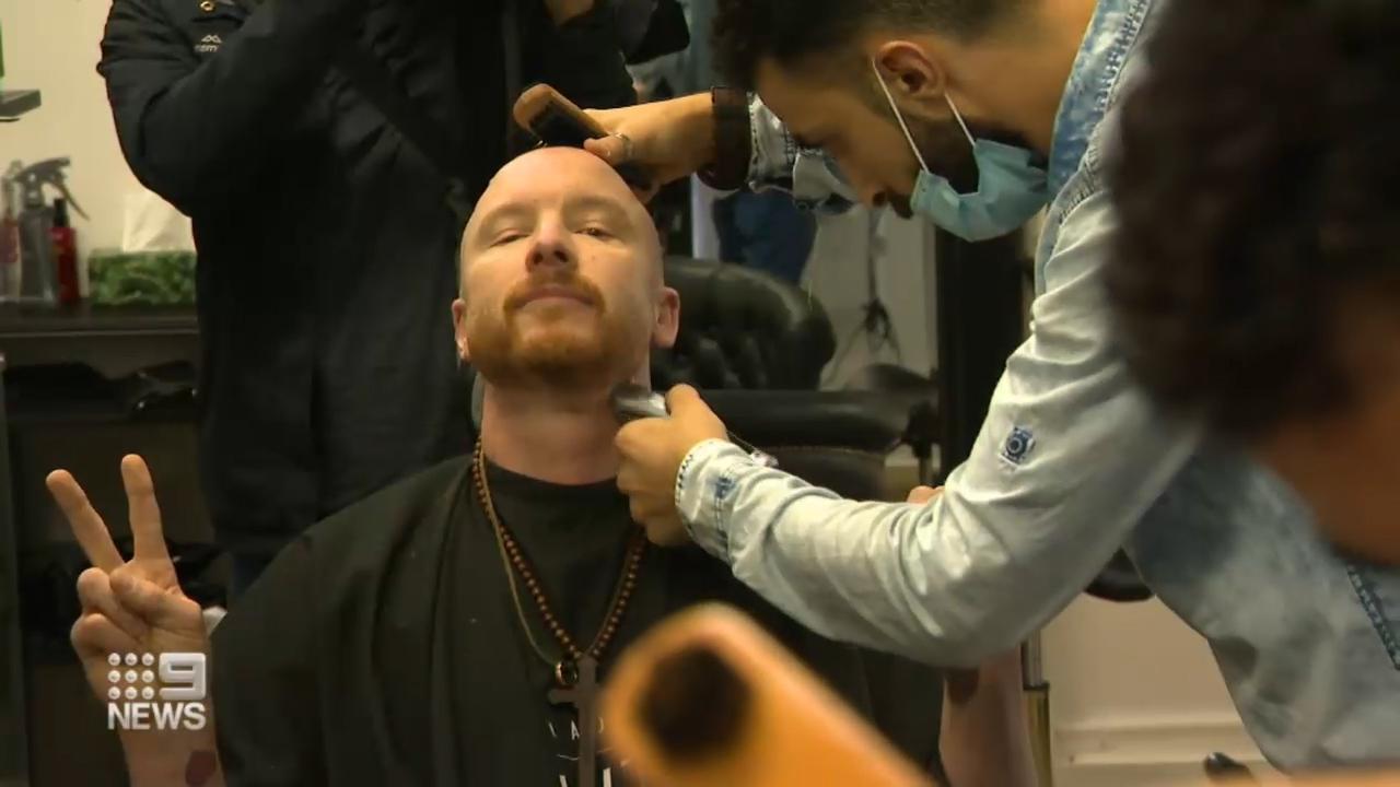 Melbourne salon owners defiant after opening despite lockdown laws