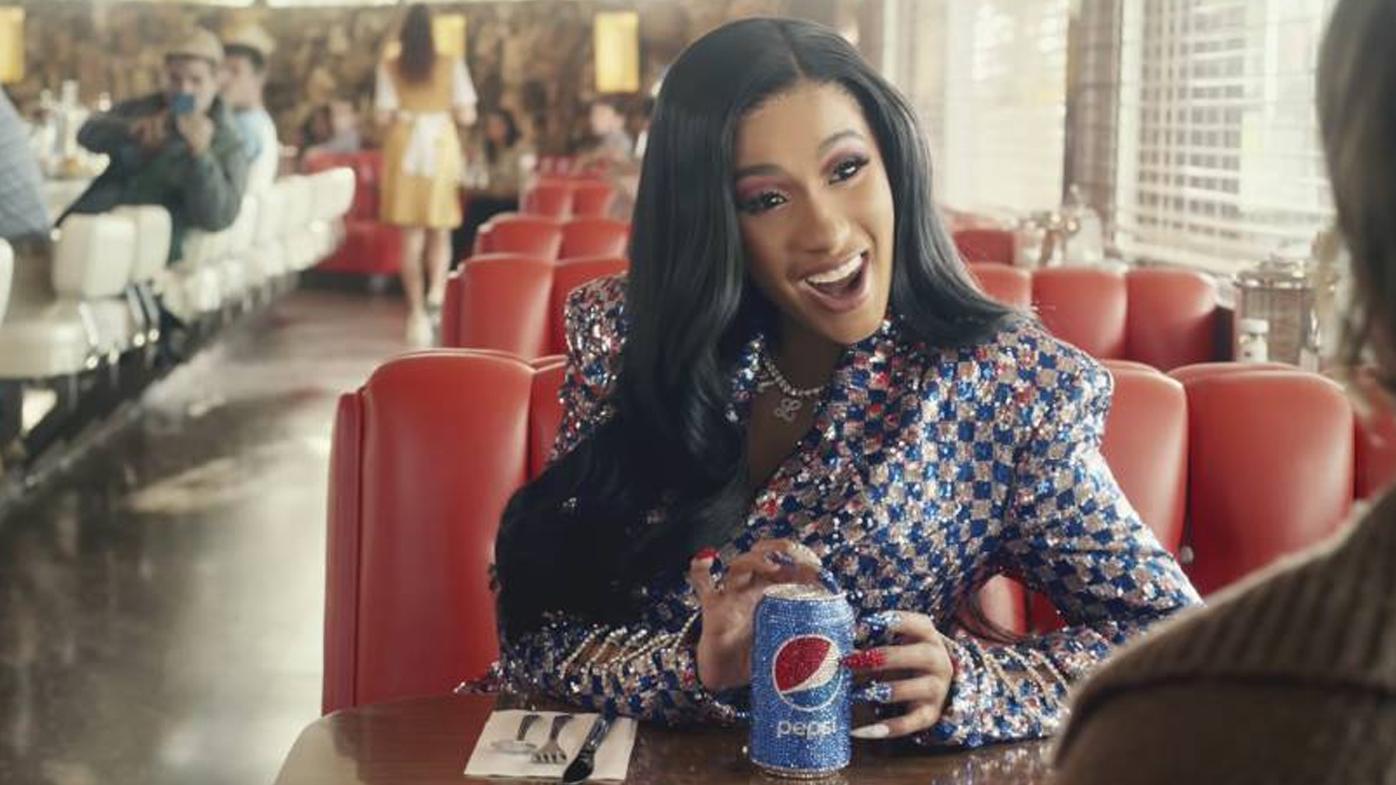 Cardi B in a Pepsi ad