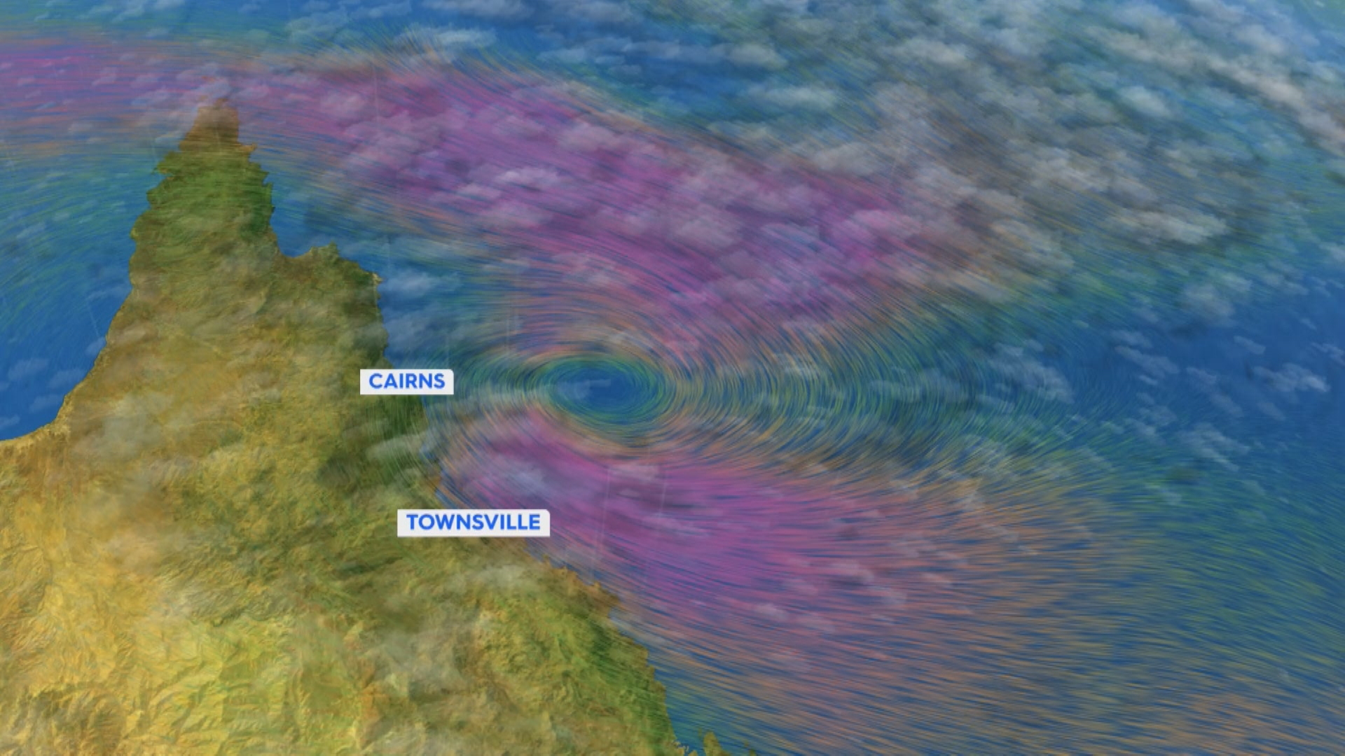 Far North Queensland on cyclone watch